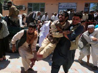 Ledakan Bom di Afghanistan, Sejumlah Diplomat Rusia Terluka